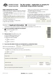 Thumbnail for preview of Tax file number (TFN) application or enquiry for an individual living outside Australia form form
