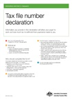 Thumbnail for preview of Tax file number declaration (TFN) form