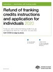 Thumbnail for preview of Refund of franking credits instructions and application for individuals 2020 form